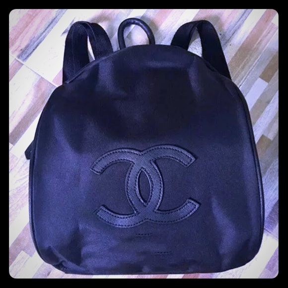 cfd6dda8a6c439 CHANEL Handbags - Brand new Chanel VIP Gift Black Nylon Backpack